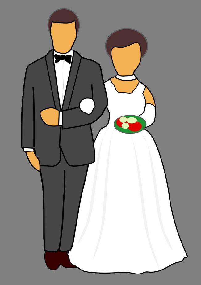 Přání pro novomanžele, veršované básničky - Blahopřání k svatbě novomanželům